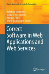 Omslag - Correct Software in Web Applications and Web Services