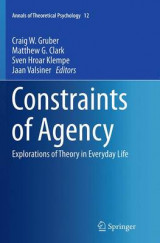 Omslag - Constraints of Agency