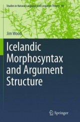 Omslag - Icelandic Morphosyntax and Argument Structure