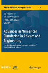 Omslag - Advances in Numerical Simulation in Physics and Engineering