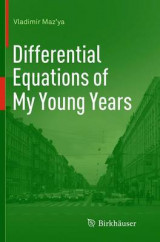 Omslag - Differential Equations of My Young Years