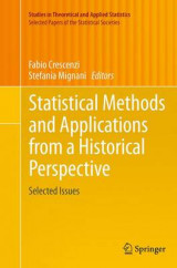 Omslag - Statistical Methods and Applications from a Historical Perspective
