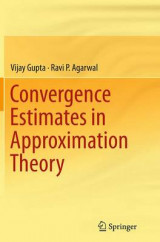 Omslag - Convergence Estimates in Approximation Theory