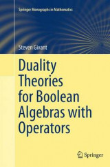 Omslag - Duality Theories for Boolean Algebras with Operators
