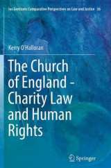 Omslag - The Church of England - Charity Law and Human Rights