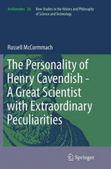 Omslag - The Personality of Henry Cavendish - A Great Scientist with Extraordinary Peculiarities