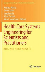 Omslag - Health Care Systems Engineering for Scientists and Practitioners 2016