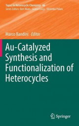 Omslag - Au-Catalyzed Synthesis and Functionalization of Heterocycles 2016