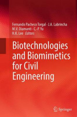 Omslag - Biotechnologies and Biomimetics for Civil Engineering
