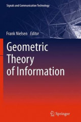 Omslag - Geometric Theory of Information