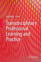 Omslag - Transdisciplinary Professional Learning and Practice