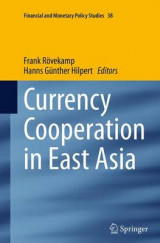 Omslag - Currency Cooperation in East Asia