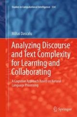 Omslag - Analyzing Discourse and Text Complexity for Learning and Collaborating