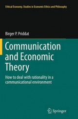 Omslag - Communication and Economic Theory