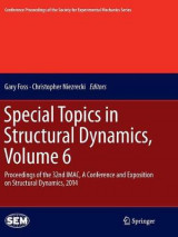 Omslag - Special Topics in Structural Dynamics: Volume 6