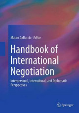 Omslag - Handbook of International Negotiation