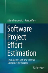 Omslag - Software Project Effort Estimation