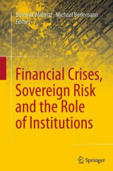 Omslag - Financial Crises, Sovereign Risk and the Role of Institutions