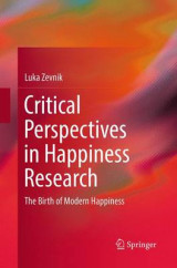 Omslag - Critical Perspectives in Happiness Research