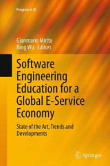 Omslag - Software Engineering Education for a Global E-Service Economy