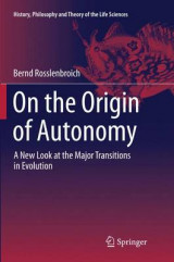 Omslag - On the Origin of Autonomy