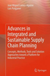 Omslag - Advances in Integrated and Sustainable Supply Chain Planning