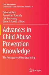 Omslag - Advances in Child Abuse Prevention Knowledge