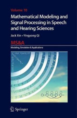 Omslag - Mathematical Modeling and Signal Processing in Speech and Hearing Sciences
