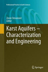 Omslag - Karst Aquifers - Characterization and Engineering