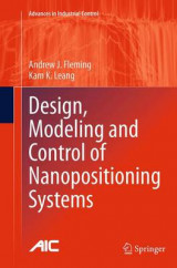 Omslag - Design, Modeling and Control of Nanopositioning Systems