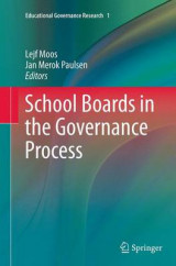 Omslag - School Boards in the Governance Process