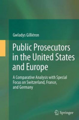 Omslag - Public Prosecutors in the United States and Europe