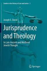 Omslag - Jurisprudence and Theology