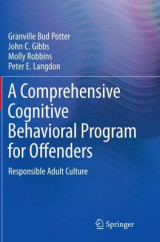 Omslag - A Comprehensive Cognitive Behavioral Program for Offenders