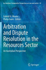 Omslag - Arbitration and Dispute Resolution in the Resources Sector
