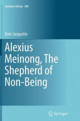 Omslag - Alexius Meinong, the Shepherd of Non-Being
