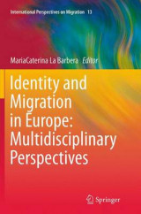 Omslag - Identity and Migration in Europe: Multidisciplinary Perspectives