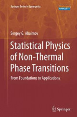 Omslag - Statistical Physics of Non-Thermal Phase Transitions