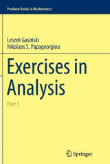 Omslag - Exercises in Analysis: Part 1
