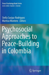 Omslag - Psychosocial Approaches to Peace-Building in Colombia