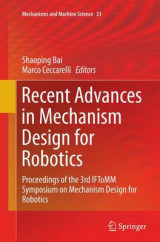 Omslag - Recent Advances in Mechanism Design for Robotics