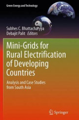 Omslag - Mini-Grids for Rural Electrification of Developing Countries
