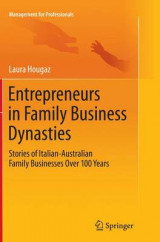 Omslag - Entrepreneurs in Family Business Dynasties