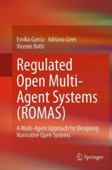 Omslag - Regulated Open Multi-Agent Systems (Romas)