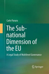 Omslag - The Sub-National Dimension of the EU