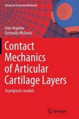 Omslag - Contact Mechanics of Articular Cartilage Layers