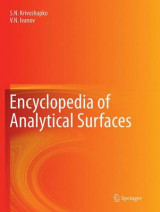 Omslag - Encyclopedia of Analytical Surfaces