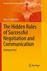 Omslag - The Hidden Rules of Successful Negotiation and Communication