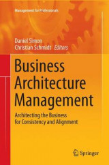 Omslag - Business Architecture Management 2015