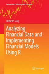 Omslag - Analyzing Financial Data and Implementing Financial Models Using R